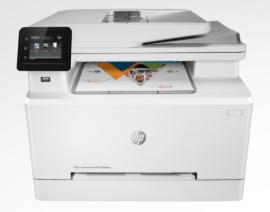 HP LASERJET PRO M283FDW COLOUR MFP, A4, 21PPM, DUPLEX, WIFI, FAX - HP 206 SERIES TONER