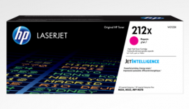 HP 212X MAGENTA HIGH YIELD TONER - APPROX 10K PAGES - FOR M554, M555, M558 SERIES W2123X