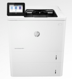 HP LJ ENT M611X MONO SFP A4, 61PPM, 2 X 550 SHEET TRAYS, DUPLEX, WIFI, 1YR 7PS85A