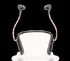 Plantronics Voyager B6200 Uc Earbud Neckband Stereo Usb-A Bluetooth Headset (Black) (208748-101)
