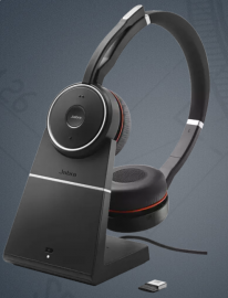 Jabra Evolve 75 Uc Stereo Headset Including Charging Station (7599-838-199)