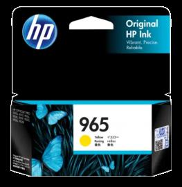 HP 965 Yellow Original Ink Cartridge 3JA79AA