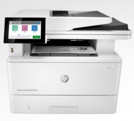 HP LASER ENTERPRISE M430F MONO MFP. PRINT, COPY, SCAN, FAX. 38PPM, DUPLEX, NETWORK, 1YR 3PZ55A