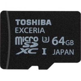 Toshiba 64gb Microsd Exceria Uhs-1 U3 (r95/w60) Sd-c064gr7uw060a