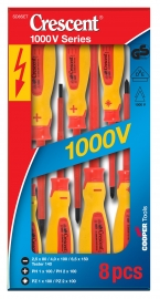 Crescent | Insulated Electrical Screwdriver Set 8 Piece Sd8set
