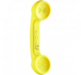 Ds Retro Bluetooth Rechargeable Handset Banana Yellow
