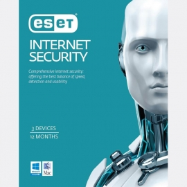 Eset Internet Security 3 Devices 1 Year Esd Key Only - Must Be Activated By 31/ 07/ 2020 Eish3D1Y-Esd
