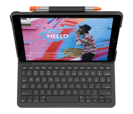 Logitech Slim Folio For Ipad  Slim Folio For iPad (5th, 6th, & 7th gen) and iPad Air (3rd gen) 920-009469