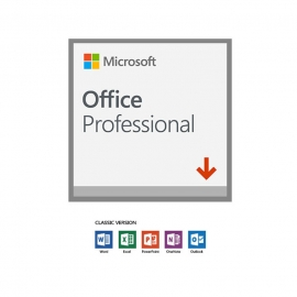Microsoft Office Professional 2019 (32/ 64 Bit) 1 User - (Esd) Electronic License. Word Excel Powerpoint Outlook Onenote Publisher Access 269-17070
