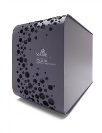 Iosafe Solo G3 4tb Fireproof & Waterproof Usb 3.0 Hdd -for Home/ Soho, 1 Yr Hardware Wty & 1 Yr
