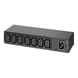 APC (AP6015A) RACK PDU, BASIC, 0U/1U, 120-240V/15A, 220-240V/10A, (8) C13