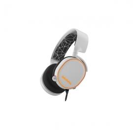Steelseries White Arctis 5 Multi Platform 7.1 Rgb Usb & 3.5mm Headset Ss-61444