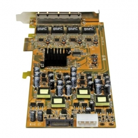 Startech 4 Port Gigabit Poe Pcie Network Card (St4000Pexpse)