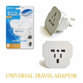 Sansai Universal Travel Adaptor: Use For England/usa/europe/china/japan/ Italy And More Other Countries