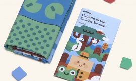 Primo Toys Adventure Pack Map & Story Book Swamp Primo012a-en