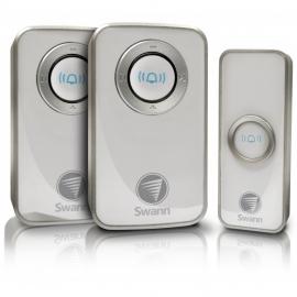 Swann Wireless Door Chime With 2 Receiver Swhom-dc820p2-au