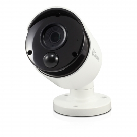 Swann 4k Ip True Detect White Bullet Camera W Audio Swnhd-885msb-au