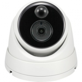 Swann 4k Ip True Detect White Dome Camera W Audio Swnhd-886msd-au