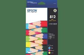Epson 812 - Std Capacity DURABrite Ultra - Ink Cartridge Value Pack (C13T05D692)