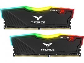 Team Delta Rgb 16Gb (2X8Gb) Ddr4 3000Mhz Black Tf3D416G3000Hc16Cdc01