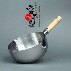 Yoshikawa Stainless Yukihira Saucepan 20Cm Yh6753 Kityosyh6753S20