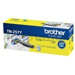 Brother Tn-257Y Yellow High Yield Toner Cartridge To Suit - Hl-3230Cdw/ 3270Cdw/ Dcp-L3015Cdw/