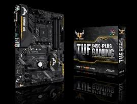 Asus TUF-B450-PLUS-GAMING MotherBoard B450 ATX: AM4 Socket for 3rd/2nd/1st Gen AMD Ryzen™ Processors 4x DIMM DDR4 (TUF-B450-PLUS-GAMING)