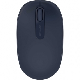 Microsoft Wireless Mobile Mouse 1850 - Wool Blue. Comfortable And Portable. 2-way Scroll Wheel.
