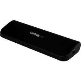 Startech Universal Usb 3.0 Laptop Docking Station - Dual Video Hdmi Dvi Vga - Notebook/ Ultrabook
