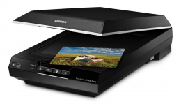 Epson V600 Film&doc Scanner, 6400x9600dpi, Optical Density 3.4, Led Tech