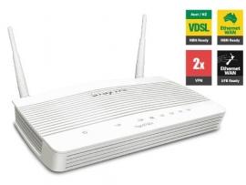 Vigor Vdsl2 & Adsl2+ Firewall Qos Ipv6 Router With 1 X Giga Wan/ Lan 3 X Giga Lans 2 X Vpns Usb