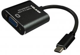Volans Cable Adapter: Aluminium Usb Type-c Usb-c To Vga Converter 1080p (ucvg) - For Laptop Macbook