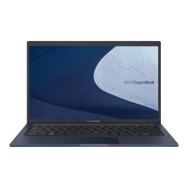 Asus ExpertBook, i5-1165G7, WIN10-P, 14.0' FHD, 16GB DDR4, 512GB SSD, 1xHDMI, 1xVGA, 1xRJ45, 2xUSB 3.2, 1xUSB 2.0,