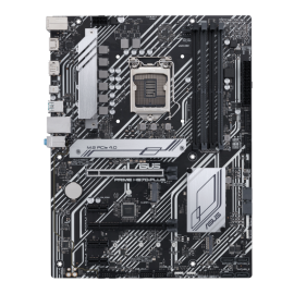 Asus PRIME H570-PLUS INTEL ATX Motherboard with dual M.2, 8 power stages, Intel 1 Gb Ethernet