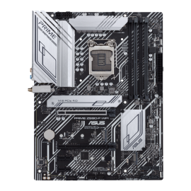 Asus Intel Z590 (LGA 1200) ATX motherboard with PCIe 4.0, three M.2 slots, 11 DrMOS power stages, HDMI, DisplayPort