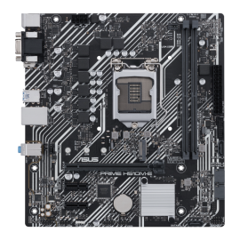 Asus Intel H510 (LGA 1200) micro ATX motherboard with PCIe 4.0, 32Gbps M.2 slot, Intel 1 Gb Ethernet, USB 3.2 PRIME-H510M-E