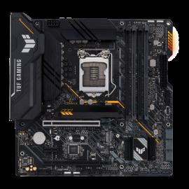 Asus Intel B560 (LGA 1200) mATX motherboard with PCIe 4.0, two M.2 slots, DisplayPort 1.4, HDMI 2.0, TUF-GAMING-B560M-PLUS