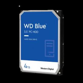 """Western Digital WD40EZAZ 3.5"""" SATA Drive: 4TB BLUE, SATA3 6Gb/s, 256MB Cache, 5400RPM"""