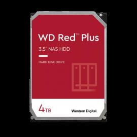 Western Digital 4TB RED PLUS 128MB CMR 3.5IN SATA 6GB/S INTELLIPOWERRPM WD40EFZX
