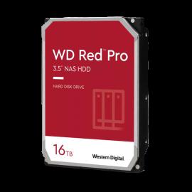 WESTERN DIGITAL 16TB WD RED PRO NAS INTERNAL HARD DRIVE - 7200 RPM CLASS SATA 6 GB/S CMR 256 MB CACHE 3.5IN - WD161KFGX