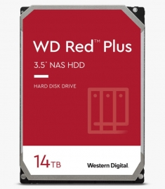 WD Red NAS Hard Drive, 14TB, SATA 6 Gb/s, 3.5in, 256MB Cache, 3 years (WD140EFGX)