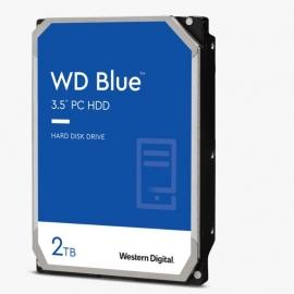 "WD Blue PC Desktop Hard Drive/ 7200RPM/  form factor:3.5"" / SATA / 2TB / Warranty 2 yrs (WD20EZBX)"