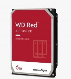 "WD Red Plus NAS Hard Drive 3.5"" SATA 6 Gb/s , 6TB, 128MBs/3.5""/ 3YRS (WD60EFZX)"