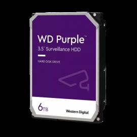 WD Purple Surveillance Hard Drive 6TB,INTELLIPOWER,128MB,SATA III,(6Gbps),3YRS (WD62PURZ)