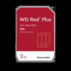 "WD Red Plus NAS Hard Drive 3.5"": Internal SATA 2TB Red, 5400 RPM, 3 Year Warranty, CMR Drive (WD20EFZX)"