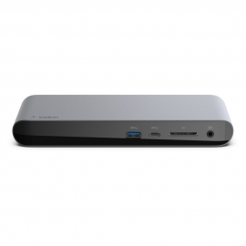 BELKIN THUNDERBOLT3 DOCK, USB-C(1), TB3 PORT (1) 85W PASSTHROUGH, USB-A 3.1(5) (F4U097AU)
