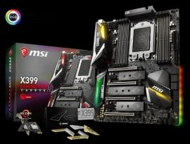 Msi X399 Gaming Pro Carbon Tr4 Amd Threadriper 8 Ddr4 Dimms 128gb Atx Motherboard X399 Gaming