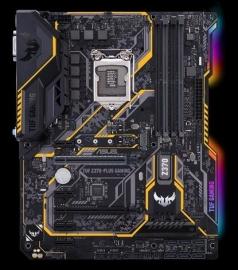 Asus Intel Motherboard Tuf Z370-plus Gaming Lga 1151-2 Atx - Z370 Chipset Tuf Z370-plus Gaming