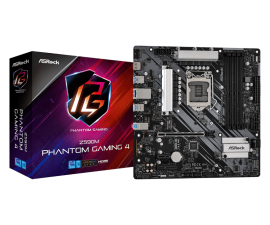 Asrock Z590M PHANTOM GAMING 4 Motherboard Supports 10th Gen Intel Core Processors and 11th Gen Intel Core Processors