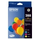 Epson 288 4 Colour Pack Durab Ink C13T305692